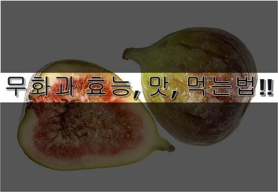 무화과 효능, 맛, 뜻, 먹는법 총정리!!