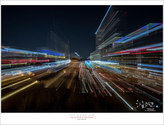 화려한 야경 동대문 디자인 플라자(DDP) 서울라이트