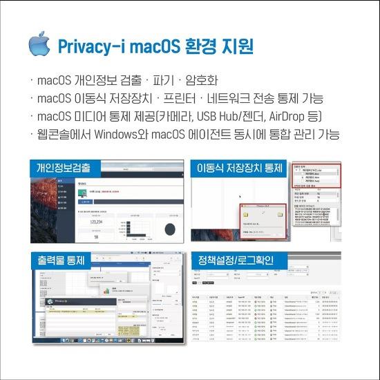 소만사 엔드포인트 DLP 'Privacy-i', 맥OS 매체제어 시장 점유율 50% ↑…외산 독식 막아