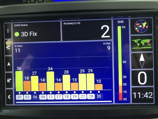 차량 내 GPS 수신률 향상시키기 (저렴한 GPS..