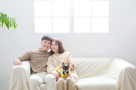 [대전 가족촬영] 선한 눈매가 꼭 닮은 두분의 첫 가족사진