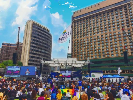 [후기] 5월 31일 서울퀴퍼닷 부스 <퀴어하게, 적극적 합의!>, 6월 1일 서울퀴어문화축제