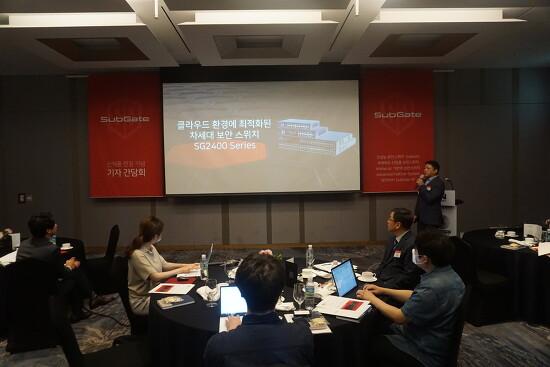 한드림넷, 신제품 보안스위치 라인업 발표