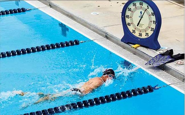 인터벌 트레이닝 2K - 수영일기