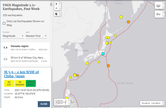 world big earthquake