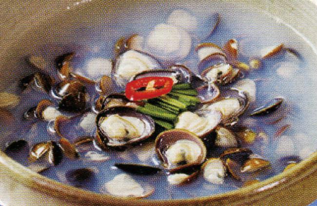 이제 집에서 먹자! 섬진강 식당에서 먹는 진한 맛, 하동 재첩국(제첩국)