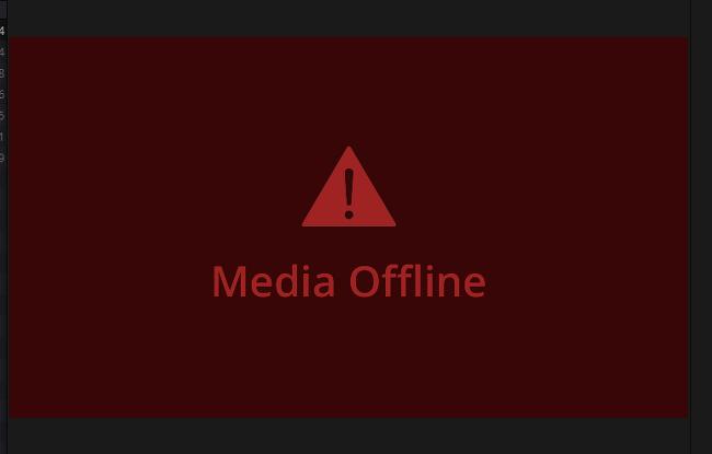 다빈치 리졸브(resolve) media offline 해결(무료) 방법