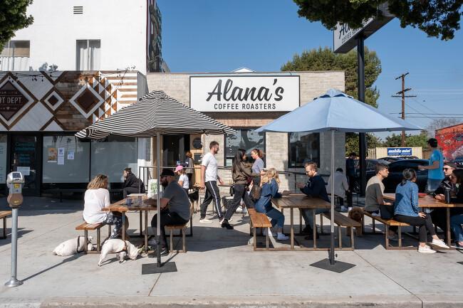 [LA 커피기행] 앨러나스(Alana's Coffee Roasters), 메노티스 커피 스톱(Menottis Coffee Stop)