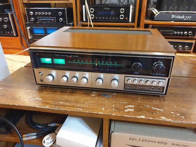 Kenwood 켄우드 베스트셀러 KR-6200 녹턴형..