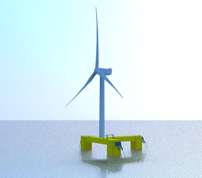 삼성重, 대형 해상 풍력 부유체로 신재생에너지 시장에 도전