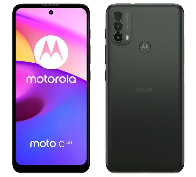 [스마트폰] 모토로라 모토 E40(Moto E40)