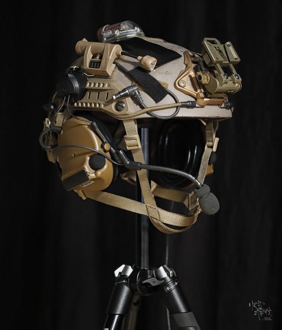 [Helmet] ODA helmet setup.
