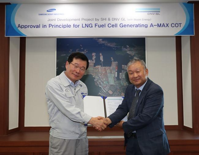 삼성重, 세계 최초 연료전지 원유운반선 개발