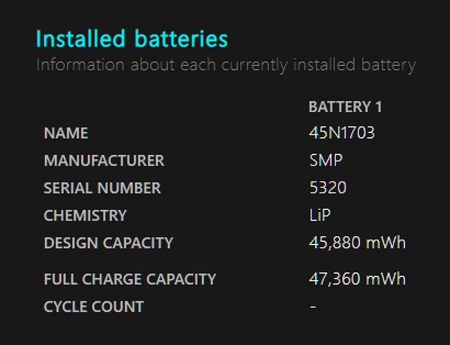 윈도우 10 팁: 내 노트북(태블릿)의 배터리 상태 확인하기