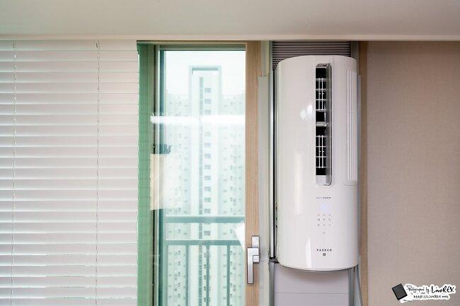 파세코 창문형 에어컨2 첫인상, 설치법 및 소음..