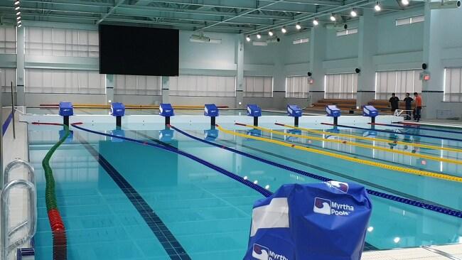 50미터 수영장, 뚜껑 열어보니 25미터 2개?