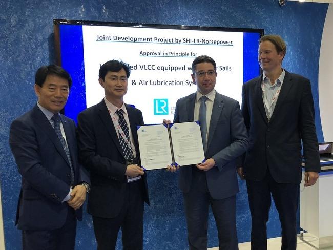 삼성重, LNG 연료추진 초대형유조선 개발 성공
