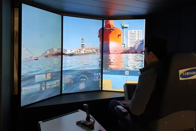 삼성重, 5G 기반 원격자율운항 기술 시연 성공