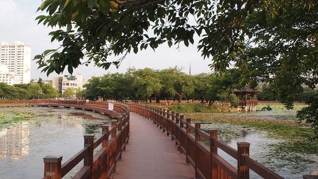 광주여행 도시속의 호수공원 운천호수