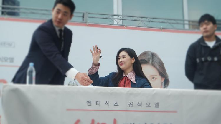 엔터식스 공식모델 첫 팬사인회! (feat. 동탄점)