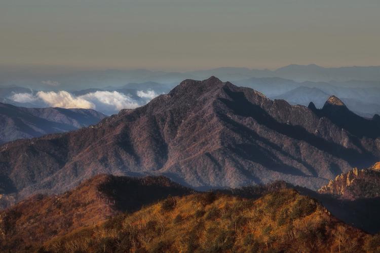 설악산 대청봉 주변의 가을 풍경(2021. 10. 17)