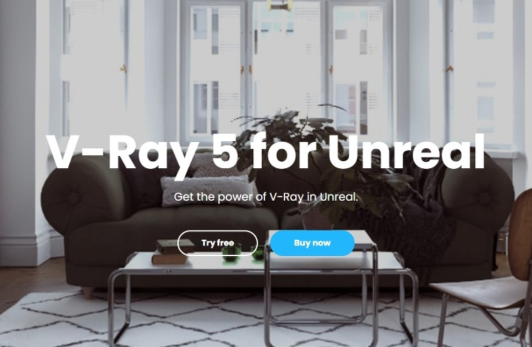 Vray 5 for Unreal