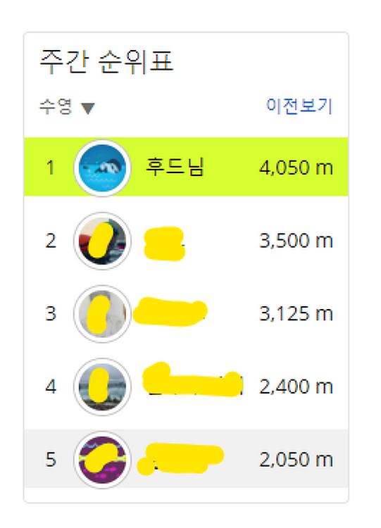 아레나 X 가민 2021 챌린지 10일차 - 4월5일(월) 핀데이