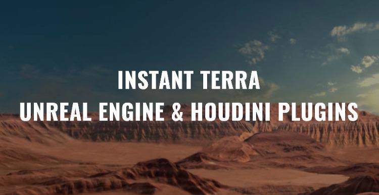 Instant Terra - Houdini Bridge 출시 예정