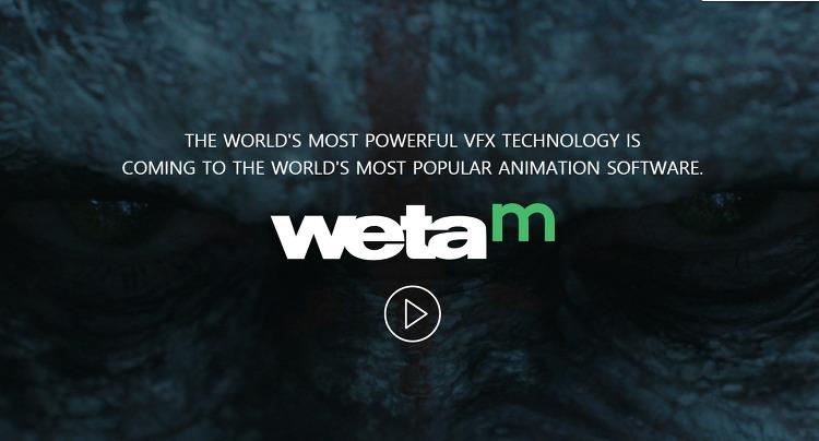 Weta-M  Weta Digital, Autodesk와 협력