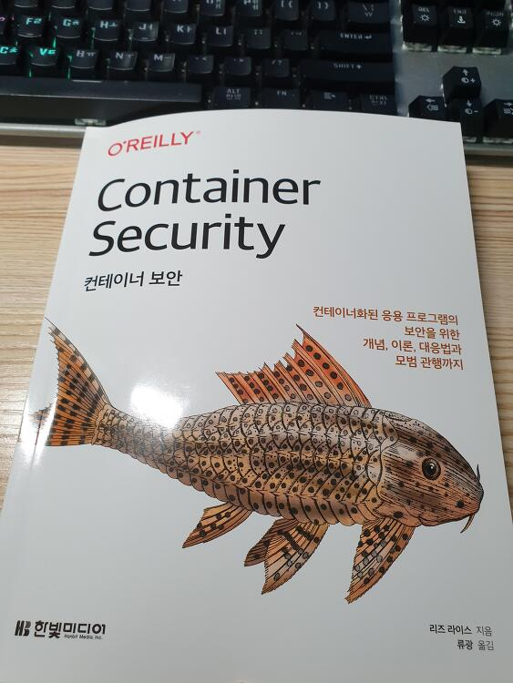 안전한 정보보호를 위해 '컨테이너 보안'을 읽는다.