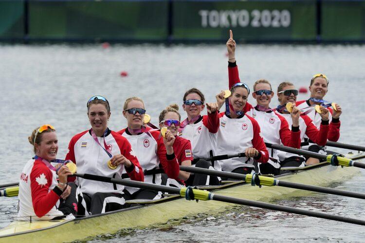 [올림픽 캐나다] 여자 조정 에잇스에서 29년만에 금메달 영예