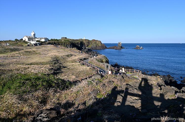 제주도 섭지코지와 광치기 해변 풍경