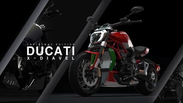 Ducati X Diavel - Christmas Concept