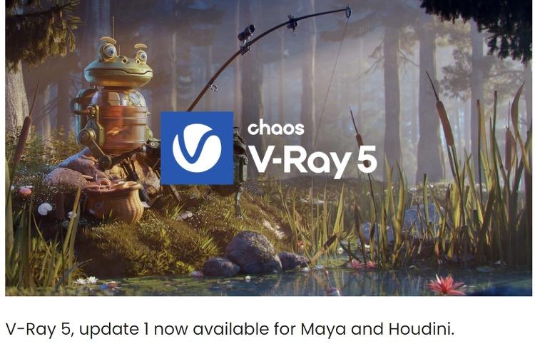 V-Ray 5.1n for Maya / Houdini  출시