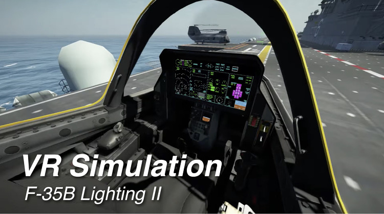 [LINECREATIVE]F-35B VR Simulation Prototype Ver.02