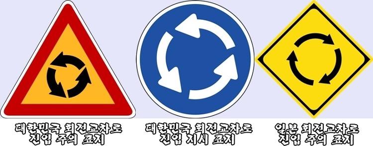 (중부) 회전교차로에도 통행요령이 있다고해요!