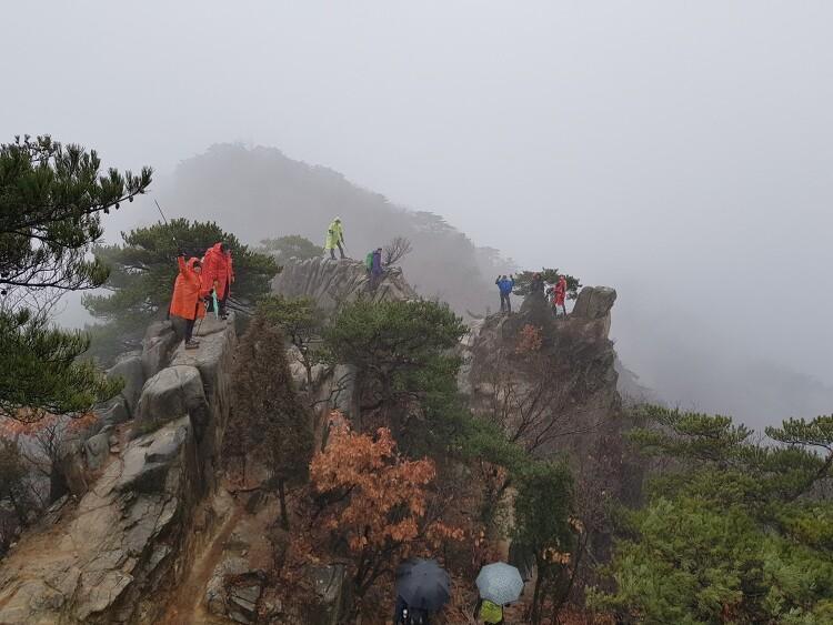 [일요산행] 관악산 우중산행 191201