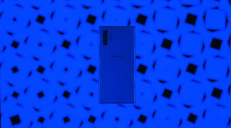 갤럭시노트10+ 블루