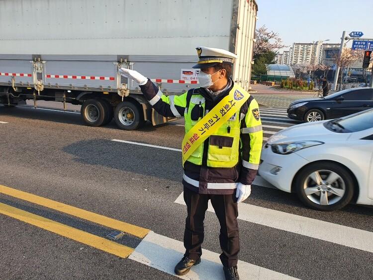 *인천삼산경찰서, 강력한【사회적 거리두기】1인 캠페인 실시