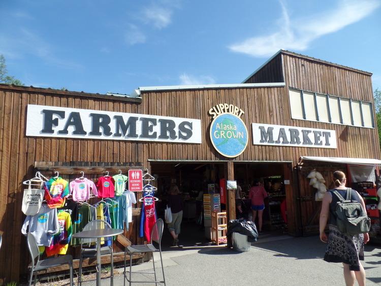 [알래스카 여름 여가] 페어뱅크스 파머스 마켓 - Farmers Market in Fairbanks [맞춤 선택 자유 힐링 빙하 낚시 오로라 디날리국립공원 신행 허니문 투어 관광  가이드 / 플래너]