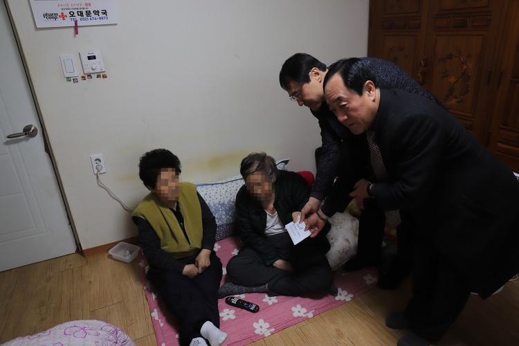 *부천오정경찰서, 설 맞이 희망나눔 활동 전개로 '훈훈'
