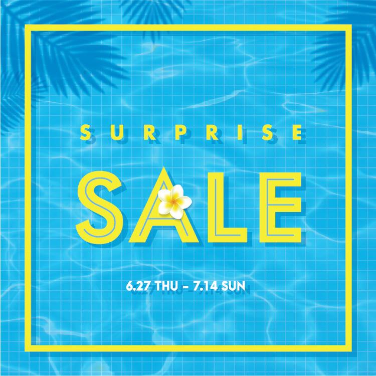 SURPRISE SALE [06.27(목) ~ 07.14(일)]
