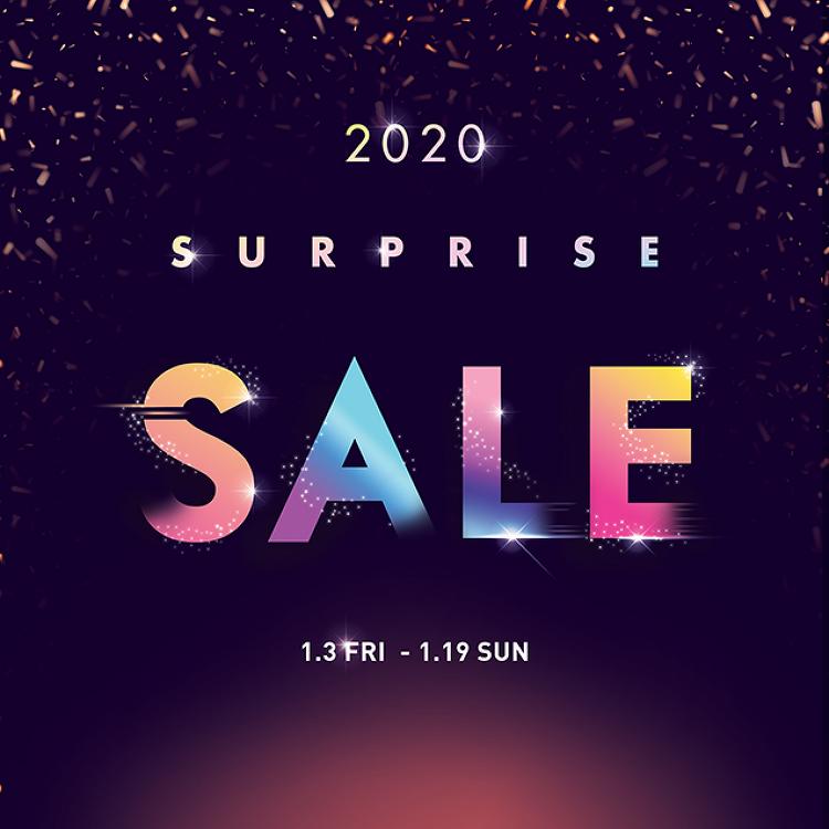 2020년 첫 서프라이즈 세일 / 1.3(금)~1.19(일)