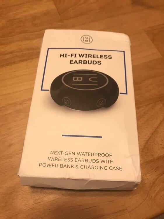 HUB: Hifi Wireless Earbud review - Indiegogo (Discord sound)