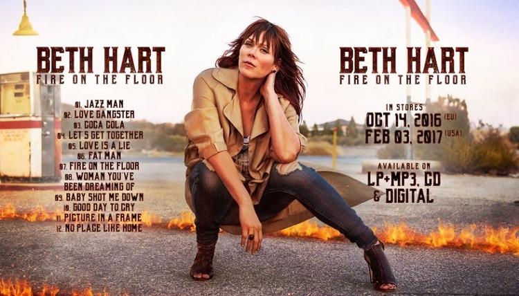 Beth Hart - Fire On The Floor