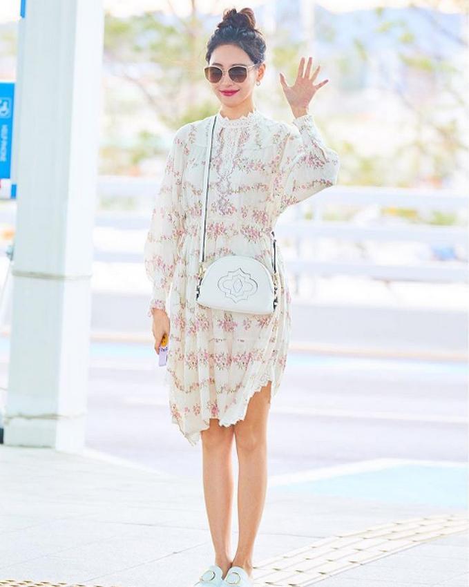 엔터식스 공식모델, 선미의 24시간 일상 패션