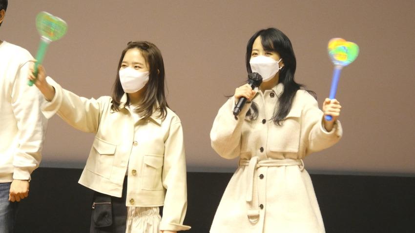 210213 롯데시네마 월드타워 아이 무대인사 김..