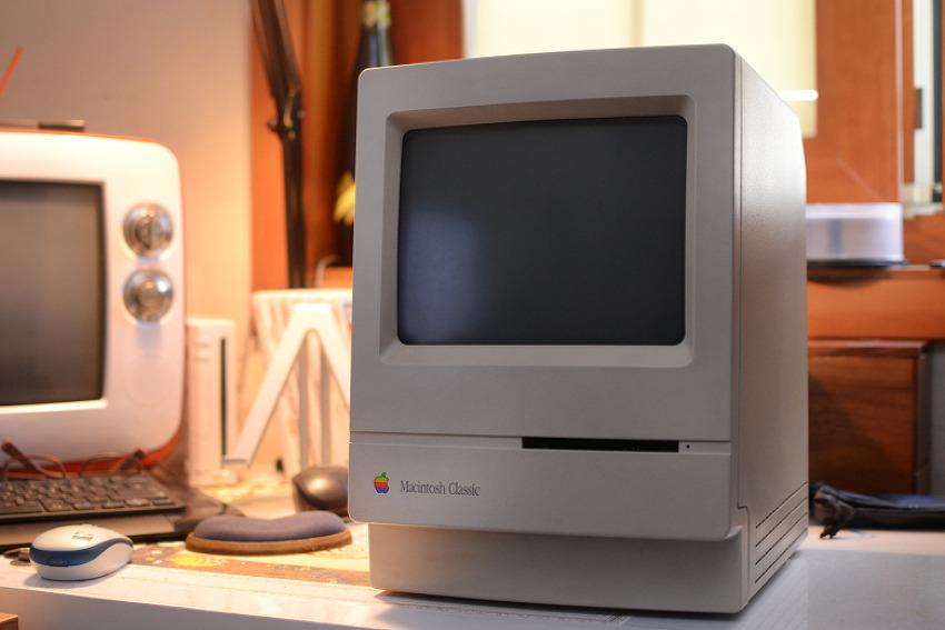 30년된 올드맥을 부활시켜보자 (Macintosh Cl..