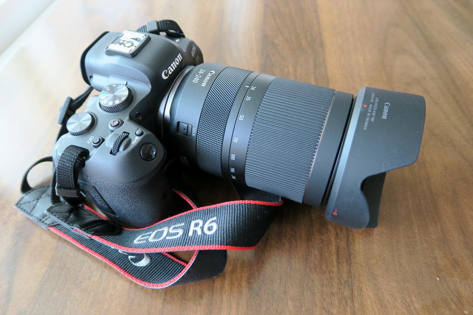 캐논 EOS R6 & RF렌즈 24-240mm 구입기