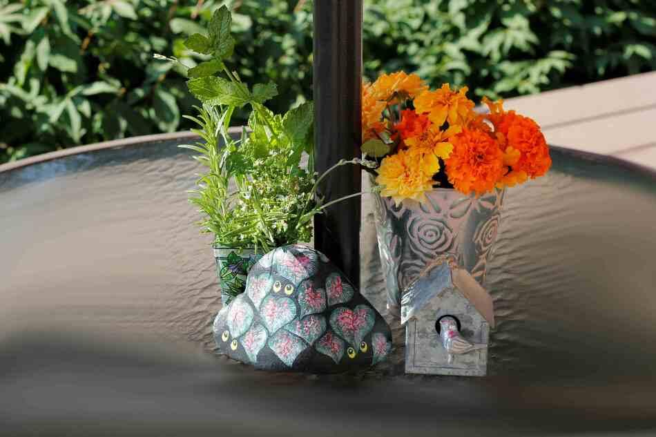 우리집가든, 7-8월의 꽃과 사용법